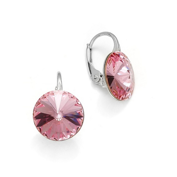 Earrings Swarovski CANDY - Sweet Candy, Light Rose