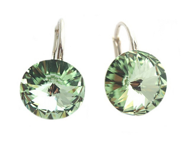 Earrings Swarovski CANDY - Sweet Candy, Chrysolite