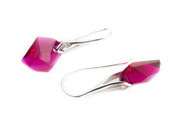 Earrings Swarovski BASIC - Cosmic S Ruby
