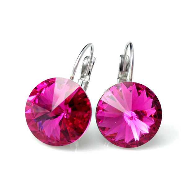 Earrings Swarovski CANDY - Sweet Candy, Fuchsia