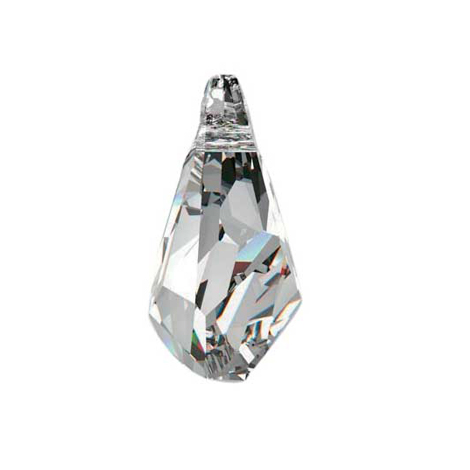 Swarovski POLYGON PENDANT 6015 21 mm, Crystal