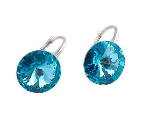 Earrings Swarovski CANDY - Sweet Candy, Aquamarine