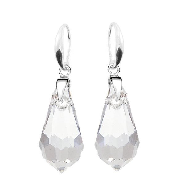 Earrings Swarovski BASIC - Drop M Crystal