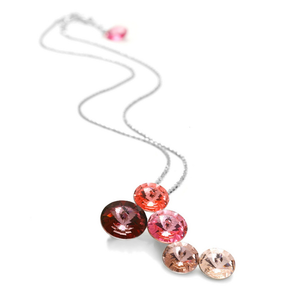 Ogrlica Swarovski CANDY - Lollipop Rose