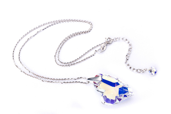 Ogrlica Swarovski BASIC - Devoted 2U,  Aurora Boreale
