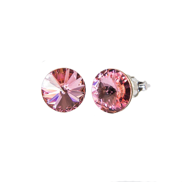 Uhani Swarovski CANDY - Classic 6 mm, Light Rose