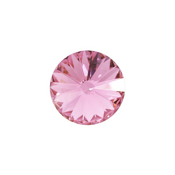 Swarovski RIVOLI 1122 SS39 8mm, Light Rose