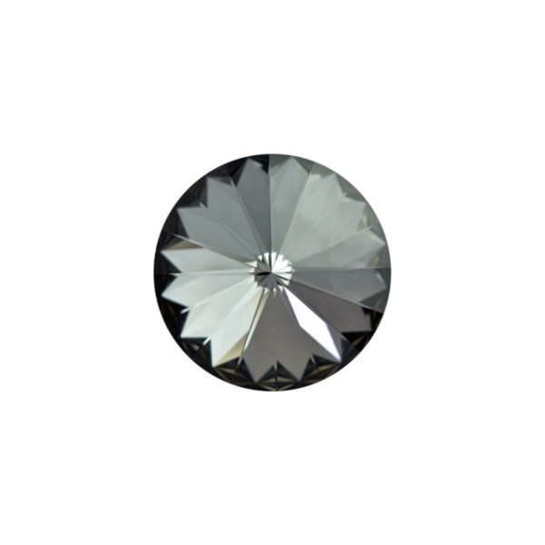 Swarovski RIVOLI 1122 SS39 8mm, Silver Night