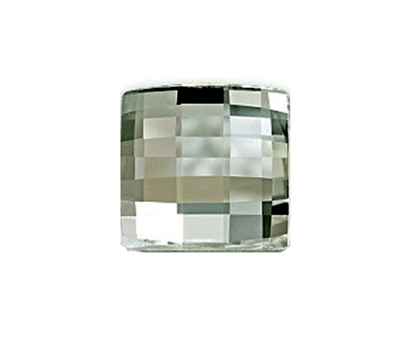Swarovski CHESSBOARD 2493 10mm, Black Diamond