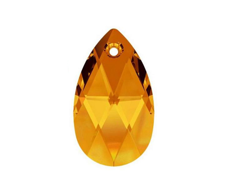 Swarovski PEAR PENDANT 6106 22mm, Copper