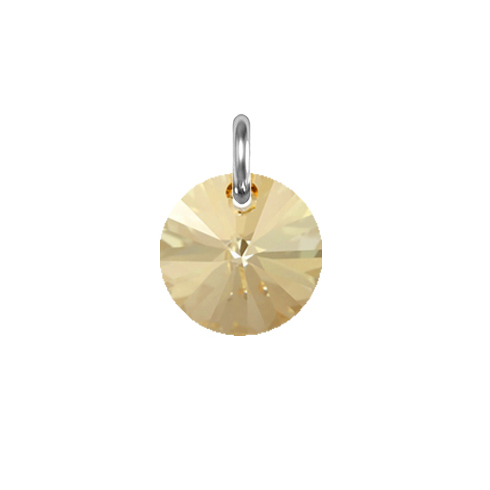 Obesek Swarovski BASIC - Rivoli Pendant, Golden Shadow